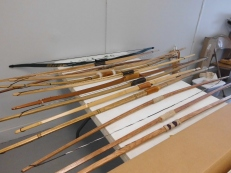 My variety of longbows