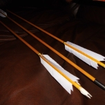 Custom Arrows Included